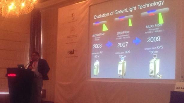 Д-р Ф. Санча споделя своя уникален опит в лазерната урология пред международната медицинска общност