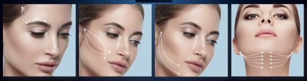 Aptos Visage има отлични резултати за оформяне средната част на лицето и подобряване геометрията на лицевия овал