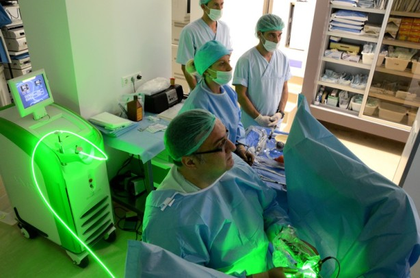 Безкръвна операция при аденом на простатата